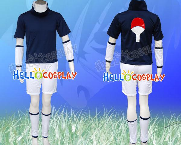 Naruto Sasuke Uchiha Cosplay Costume H008(China (Mainland))