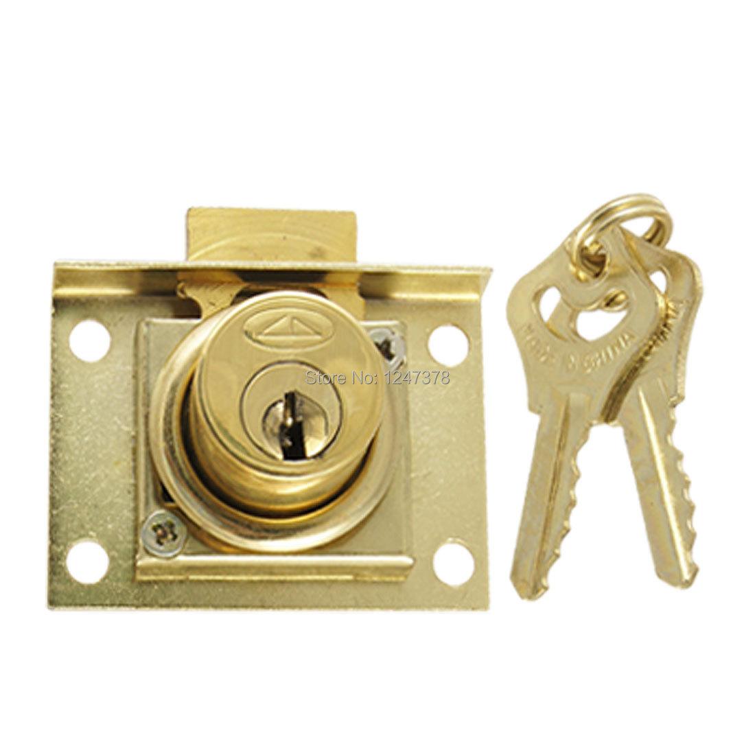 Quarter Turn Drawer 4 5 Diameter Cylinder Lock w Keys Discount 50 Tool
