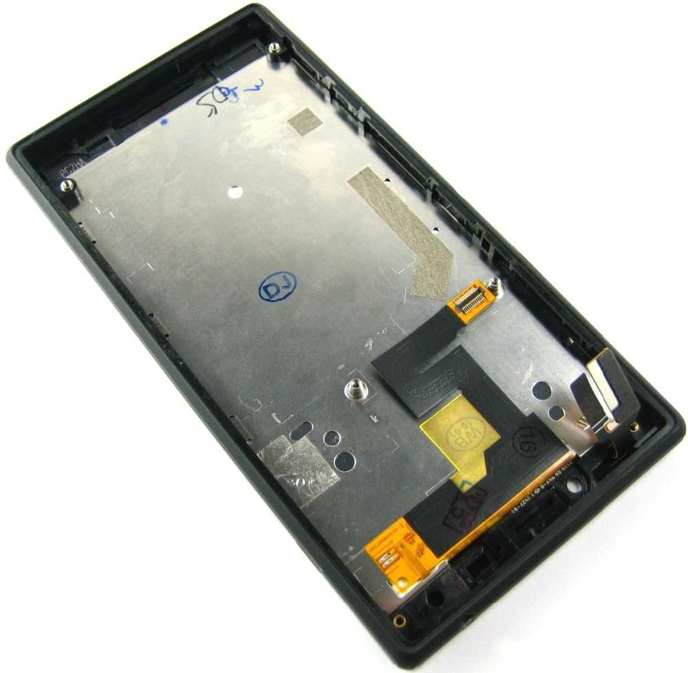 Replacement Full LCD Display + Touch Screen Digitizer + Front Frame Cover for Sony Xperia M2 Black