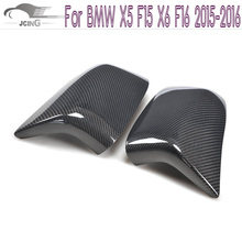 Buy carbon fiber Replacement Style Side Wing Mirror Covers BMW X5 F15 X6 F16 2015-2016 Rearview Mirror Caps Car Tuning Parts for $166.90 in AliExpress store