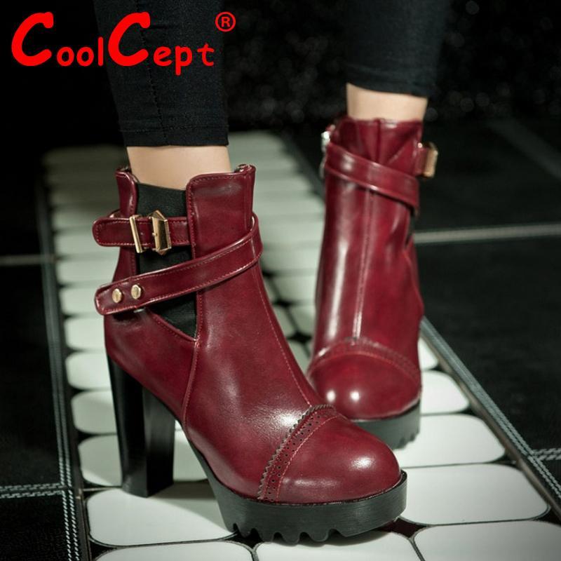 women high heel ankle boots half short boot martin autumn winter botas fashion footwear quality heels shoes P20598 size 34-39<br><br>Aliexpress