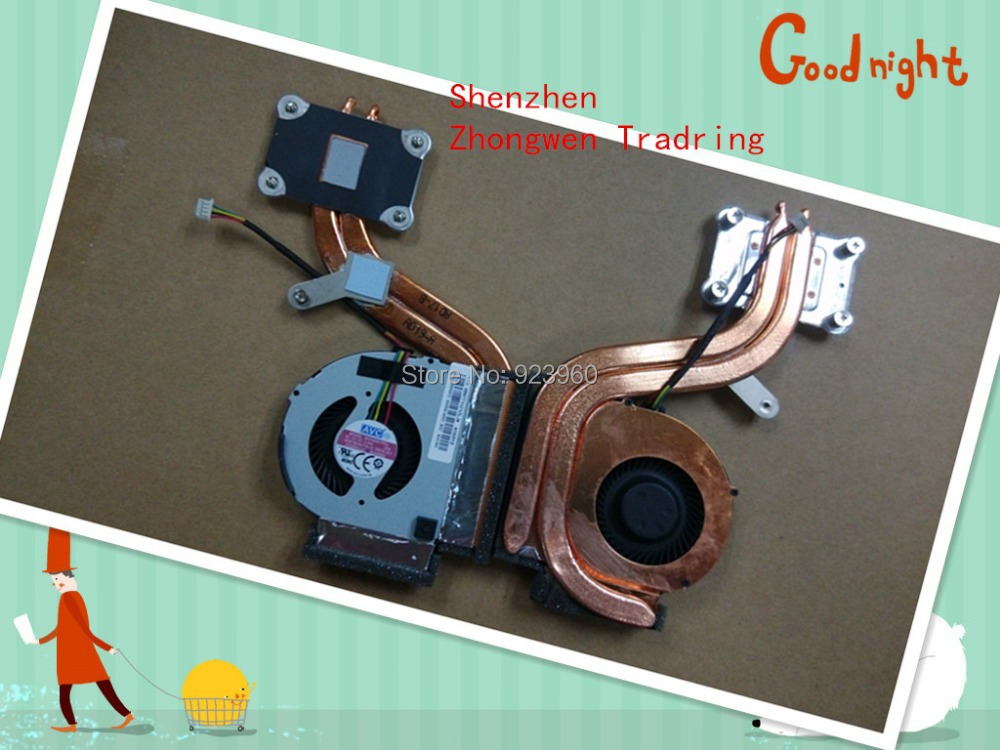 Genuine New BATA0507R5U P/N:23.10678.001 FRU:04W6923 For Lenovo THINKPAD X220 X220I X230 4pin CPU COOLING FAN With Heatsink
