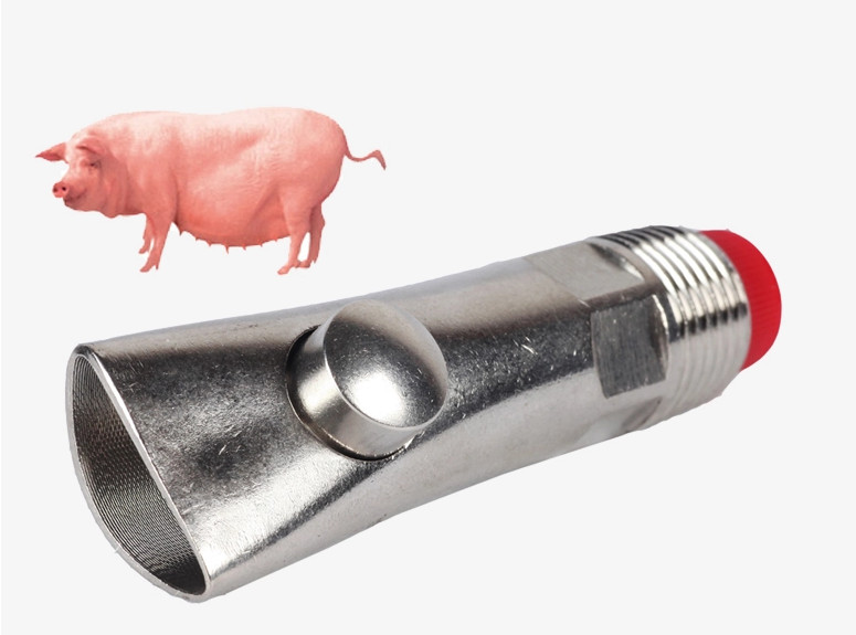 CI ball splash-proof stainless steel MOUTH PIECES for pigs, pig drinking water mouth Tsui automatic Waterer 15mm pipes(China (Mainland))