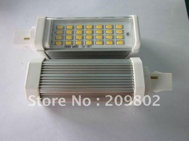 G24 5630 28 leds 8W corn light LED ceiling light aluminum 2-year warrantywarm white/cool whitefree shipping 4PCS/LOT