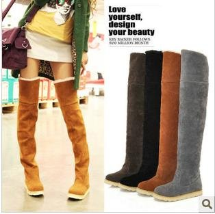 Thigh High Winter Boots - Boot Hto