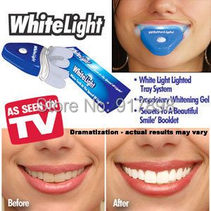 White Light Teeth Whitening Tooth Whitener Health Oral Care Toothpaste Kit For Personal Dental Care Healthy(China (Mainland))