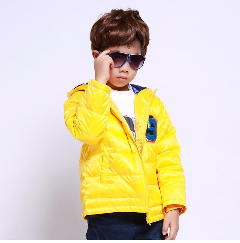 Скидки на SOGNI ДЕТИ Мальчики Пуховик 90% Белая Утка Вниз Куртка Сгущает С Капюшоном Мальчиков Одежда Мода Марка Дети Зимнее Пальто