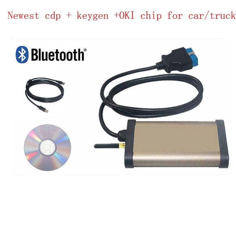 2014 New FOKI CHIP Car diagnostic tool autocom CDP Pro cars & trucks(Compact Diagnostic Partner ) + DHL Shipping WA0001