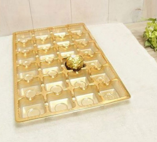 2016 new arrival chocolate packaging box plastic tray for chocolate wedding valentine chocolate mold decoration(China (Mainland))