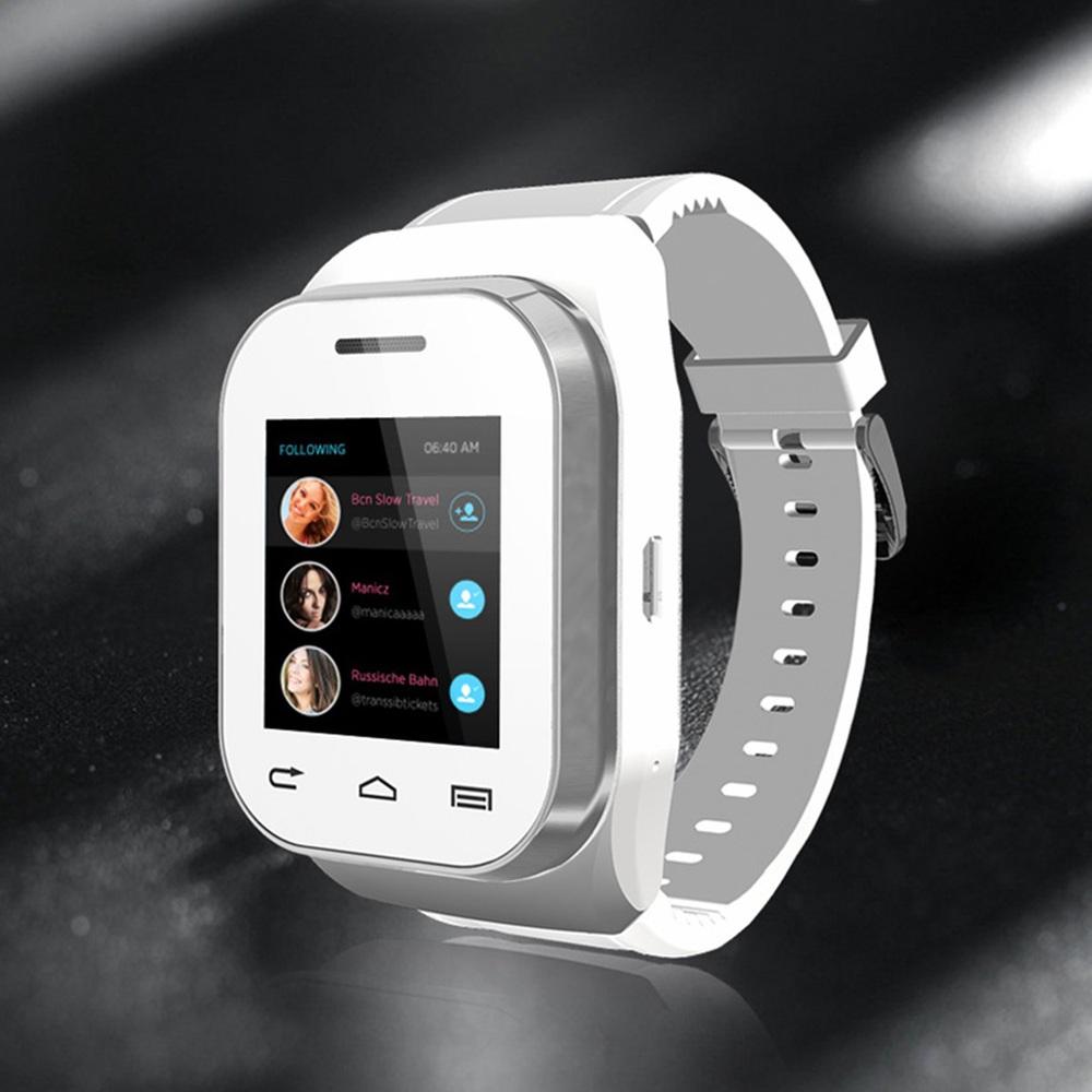 2016 Hot W1 Smartwatch Phone Keyboard Inteligente Reloj Phone with HD Camera Lens Slide Keyboard TF