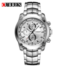 Curren Watches Men Luxury Brand Stainless Steel Business Wristwatches Casual Watch Quartz Watches