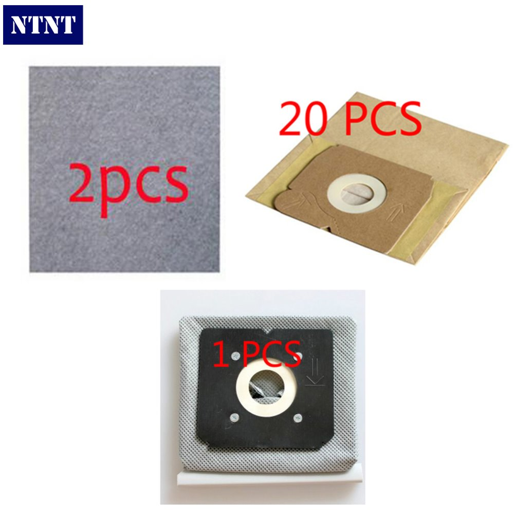 For Electrolux Vcuum Clean Z1560 Z1570 Z1550 Replacements 20X Paper dust bag+2X motor filter+1X washable dust bag suitable(China (Mainland))