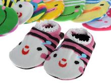 Free shipping Promotion Sale 10pairs Soft Cotton Baby Girl Boy INFANT TODDLER Non slip SOCKS Fit