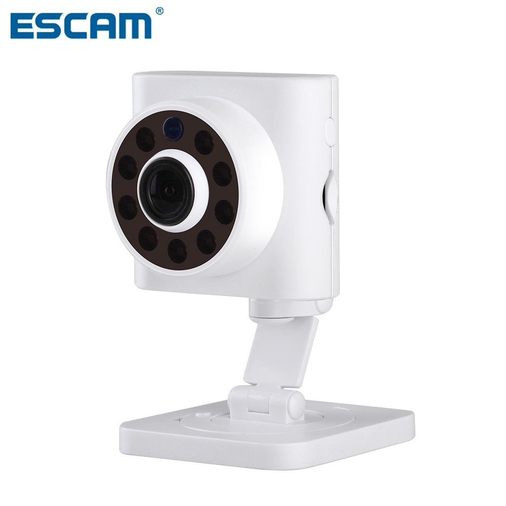 ESCAM Wall-E QF601 mini ip camera ONVIF 720P with Dynamic support IOS and Android security camera(China (Mainland))