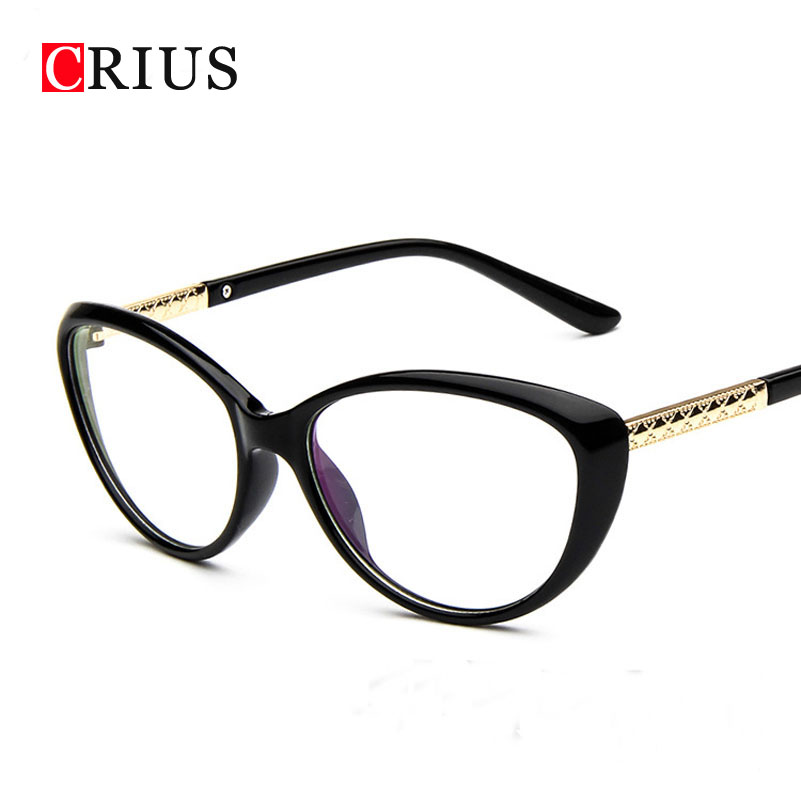 womens optical glasses frame cat eyes eyeglasses frame ...