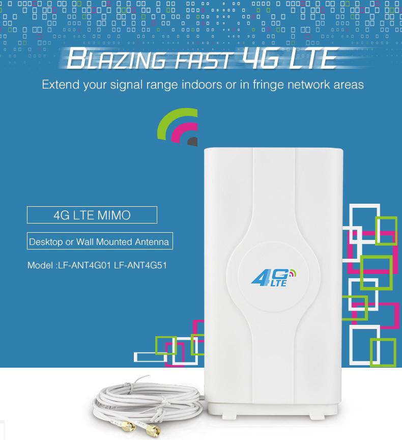 high gain external mimo antenna huawei 3g 4g lte fdd tdd router sma ts9 crc9 amplifier(China (Mainland))