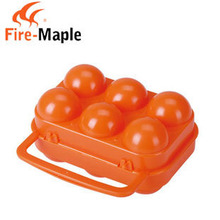 Qulity Goods Outdoor Camping Fire Maple FMP-809 Portable Folding shatter-proof Egg Box Egg Carrier with 6 cavity 85g