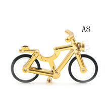 Blocos de Super-heróis Mini Bicicleta Boneca Brinquedo Compatível Com Uma Única Venda De Bicicletas Da Cidade Figura Acessório(China)