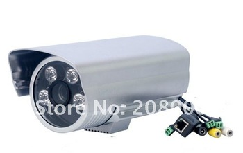 Wired Megapixel IR Box IP Camera,Box IP Camera for wholesale and retail,Guaranty 100%