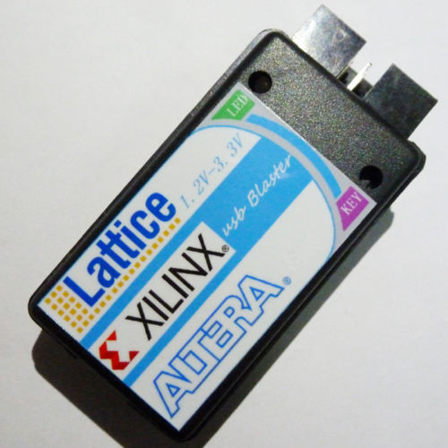 ALTERA XILINX Lattice 3 in 1 Combination CPLD FPGA JTAG USB blaster Downloader(China (Mainland))