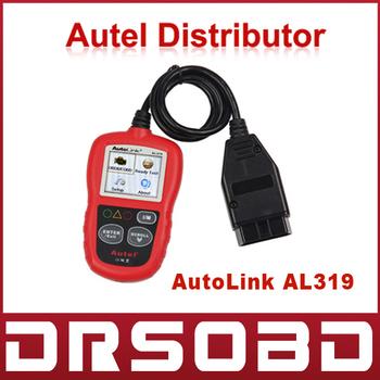 [Autel Distributor] Professional Auto diagnostic Code reader Autel AutoLink AL319 Cheapest AUTO scan tool Free Update Online