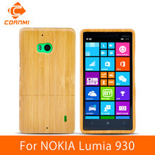 CORNMI For NOKIA Lumia 930 Case Cover Genuine Wood Bamboo Design Cell Phone Cases For NOKIA 930 Covers Hard Back Shell ITH(China (Mainland))