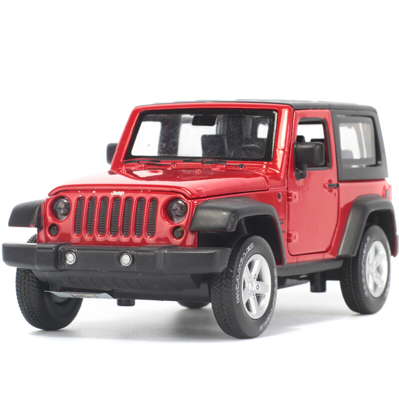 New High Simulation Exquisite Model Toys Model Jeep Wrangler Rubicon Vehicle Model 1:32 Alloy Car Model Collection For Baby Toys(China (Mainland))
