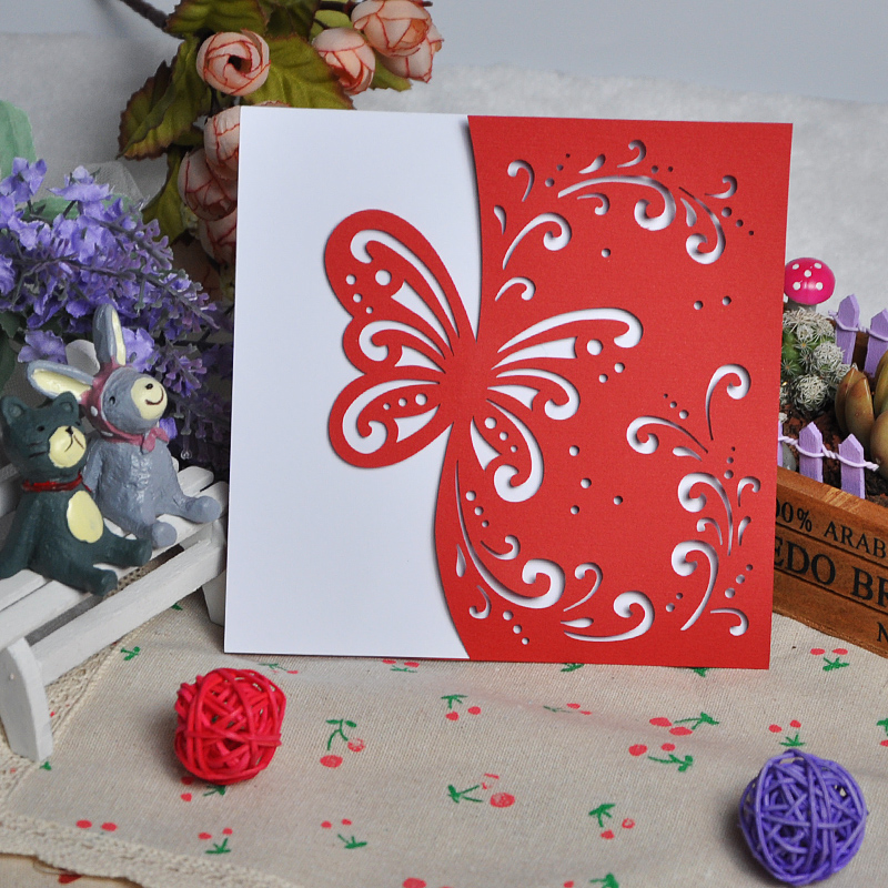 online kaufen gro handel rot visitenkarten aus china rot. Black Bedroom Furniture Sets. Home Design Ideas