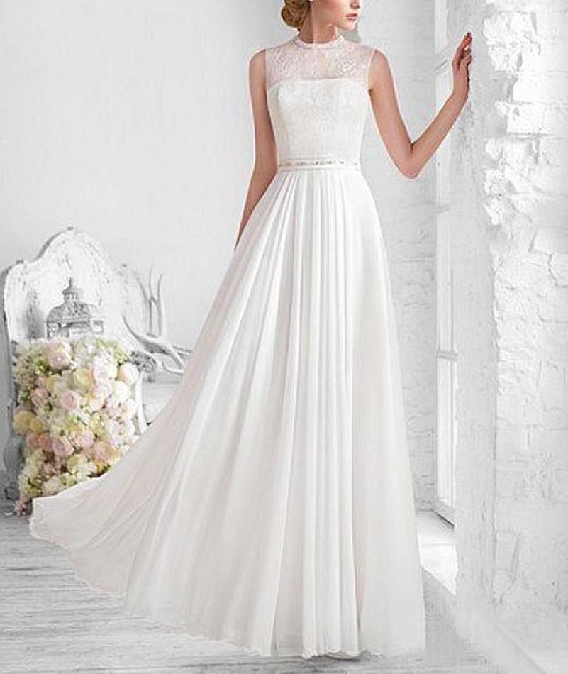 Automne en plein air de mariage robes promotion achetez for Robes de mariage en plein air