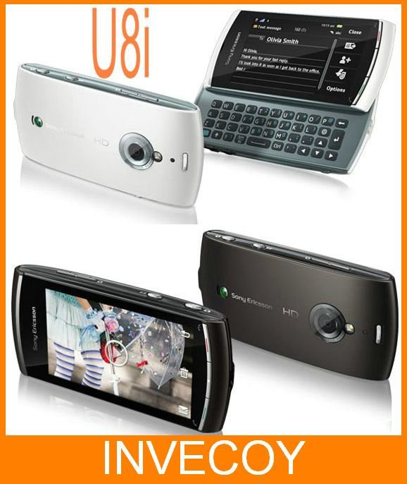 U8i original Sony Ericsson Vivaz pro U8 Unlocked mobile phone 3G wifi gps bluetooth mp3 player fm radio 5MP warranty(China (Mainland))
