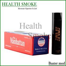 Hottest AV Buster Mod USA E-Cigarette Machanical Mods Brass Copper SS AV Buster Mods VS SMPL Manhattan Knight Rig Vertex mods