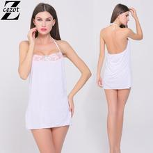CeZot Hot! women sexy lace doll lingerie dress lace transparent sexy conjoined sleepwear nightwear erotic costumes underwear(China (Mainland))