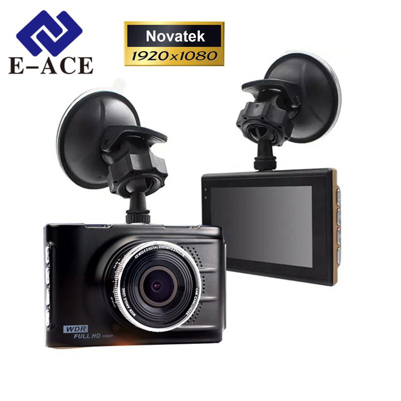 E-ACE Original Novatek 96223 Mini Car Dvr Full HD 1080P Digital Video Recorder Dash Camcorder Camera Registrator Night Vision(China (Mainland))