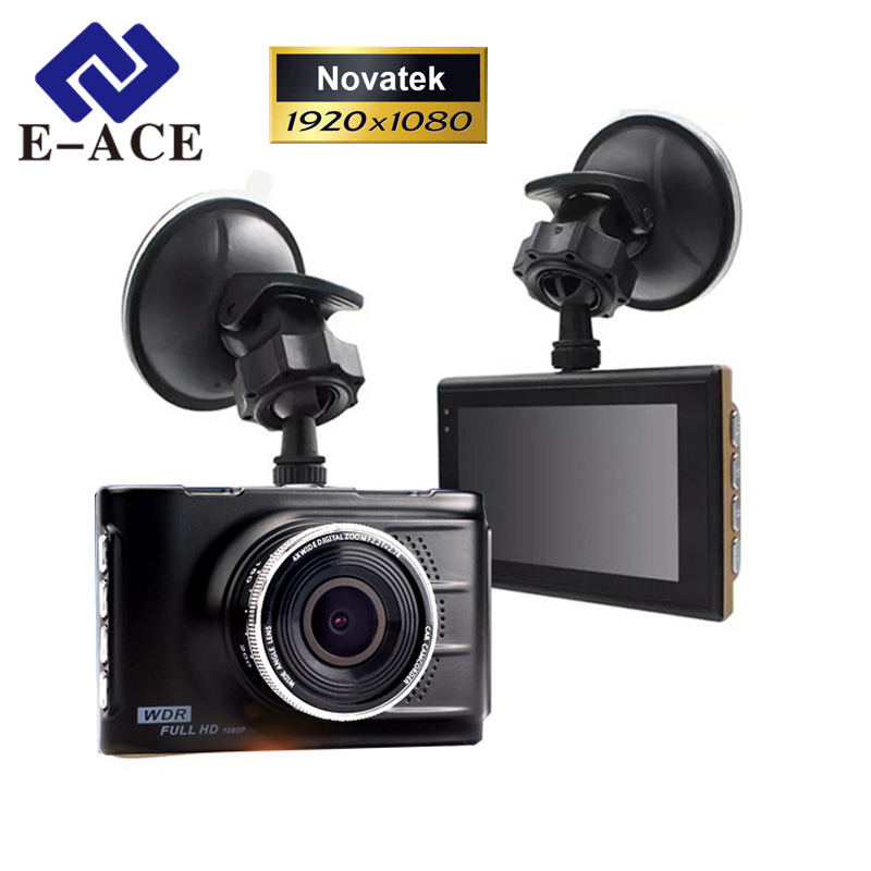 E-ACE Original Novatek 96223 Mini Car Dvr Full HD 1080P Digital Video Recorder Dash Camcorder Camera Registrator Night Vision(China (Mainland))
