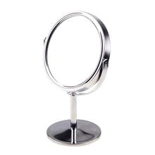 2015 dame Tisch Schreibtisch Stehen Kommode Kosmetische Kosmetikspiegel Doppelseitige Vergrößerung 6 Größen Frauen Schönheit Rotierenden #74505(China (Mainland))