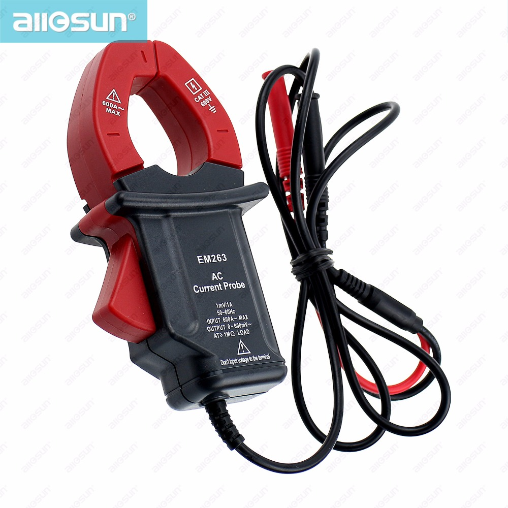 Clamp On Multimeters Current Probes : Aliexpress buy all sun em compact current probe