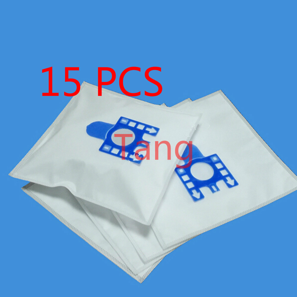 Free shipping 15 PCS New vacuum cleaner bags Miele GN Filter bags 5 layers nonwover filter bags 4X filters Hoover dust bags(China (Mainland))