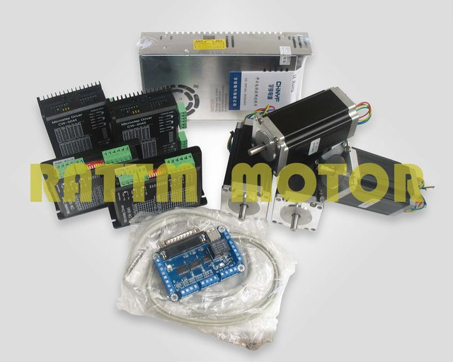 Buy De Delivery 4 Axis Cnc Nema23 425 Oz