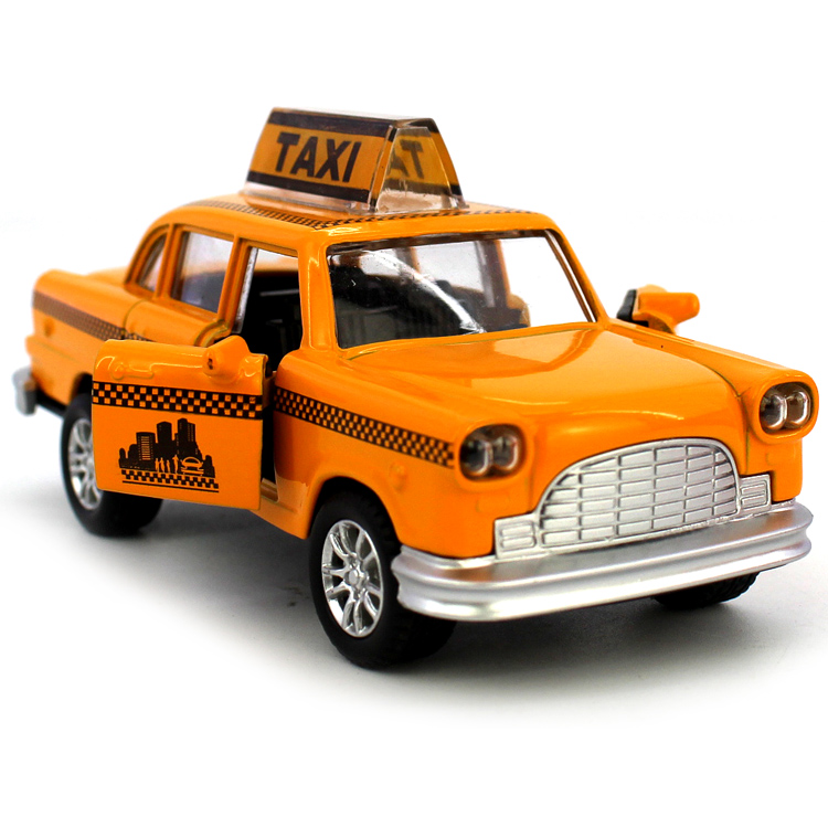 1:32 Christmas Gift Minecraft Taxi Alloy Car Model For Kids Toys Wholesale Diecast Toy Car(China (Mainland))