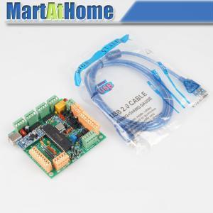 Freeshipping USB CNCUSB 4 Axis CNC Controller Interface Board USBCNC 2.1 MK1 For engraving maching #SM535 @CF Числовое программное управление