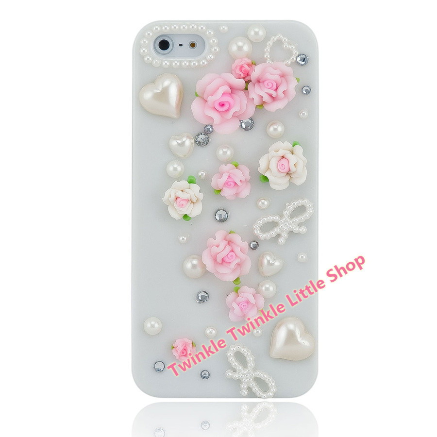 Free Shipping Fashionable Crystal Diamond Hard Back 3D Bling Rhinestone Phone Cases For Apple iphone 5s case for iphone 5c case(China (Mainland))