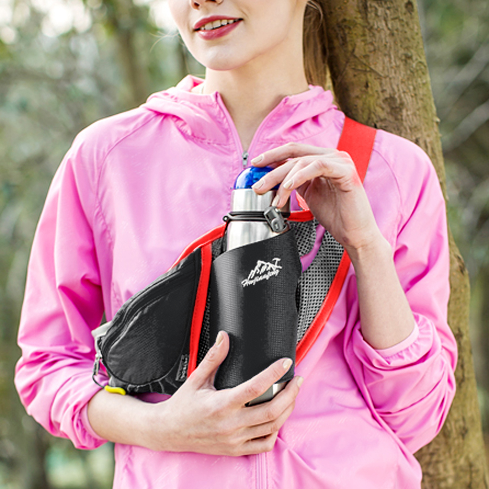 acheter gros femmes taille sacs sport bouteille d 39 eau titulaire en plein air courir ceinture sac. Black Bedroom Furniture Sets. Home Design Ideas