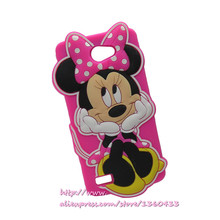 3D Cartoon New Generation Minnie Mouse Soft Silicone Mobile Phone Bags Case Cover LG Bello 2 II / Prime Max - Consumer Electronics Accessories Store store
