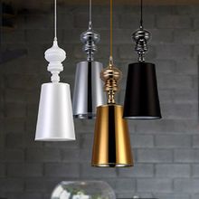 Modern Brief Pendant Lamps  Dining Room Pendant Lights White /Black /Golden /Silver Spain Jaime Hayon Design Metalarte Josephine(China (Mainland))