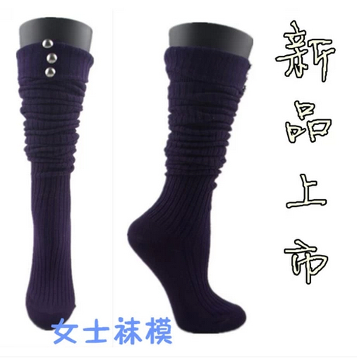 Free Shipping!Female Plastic Mannequin Feet Sock Mannequin Socks Display Top Level Best Value(China (Mainland))