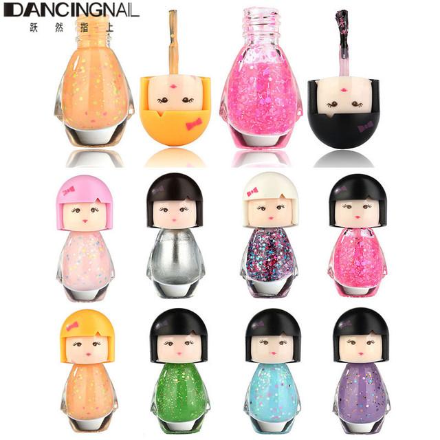 1 шт. 7 мл 9 цветов милый ребенок кукла акриловые неоновые ногтей для DlY дизайн ...