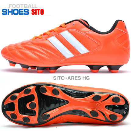 2015 new outdoor kids/boys/girls soccer cleats FG European Size 33-45(China (Mainland))