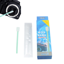 Hot Sale 6pcs CCD COMS Wet Sensor Cotton Swab Camera Lens Cleaning Stick kit For Nikon Canon Sony Camera(China (Mainland))