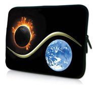"Moon and Earth 10"" Laptop Bag Sleeve Case Pouch For 10.1"" Samsung Galaxy Tab/Apple iPad 4 3 2 1(China (Mainland))"