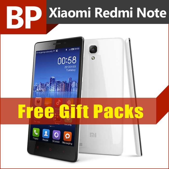 Original Xiaomi Redmi Note 4G LTE 5.5 Inch HD IPS MSM8916 Quad Core 1.2 GHz Miui V6 Android 4.4 Mobile Phone 2GB RAM 16GB ROM(China (Mainland))